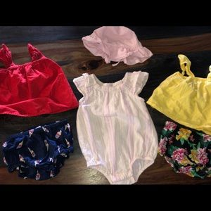 12-18 baby girls old navy outfits